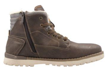 Mustang Shoes  Boots in Übergrößen Dunkelbraun 4092-602-32 große Herrenschuhe – Bild 4