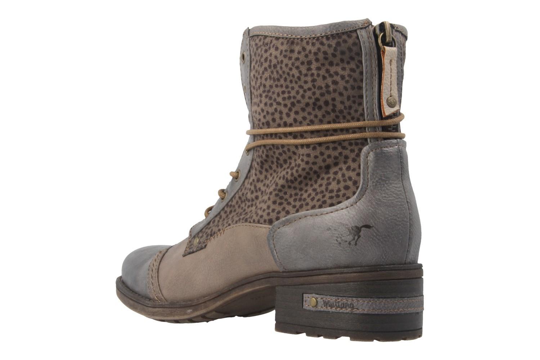 Mustang Shoes Boots in Übergrößen Grau 1229-504-367 große Damenschuhe – Bild 2