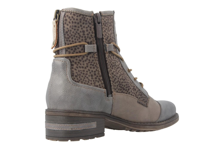Mustang Shoes Boots in Übergrößen Grau 1229-504-367 große Damenschuhe – Bild 3