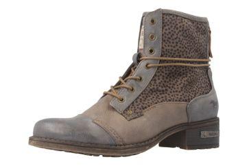 Mustang Shoes Boots in Übergrößen Grau 1229-504-367 große Damenschuhe – Bild 1