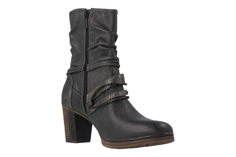 Mustang Shoes Stiefeletten in Übergrößen Grau 1199-506-259 große Damenschuhe – Bild 5