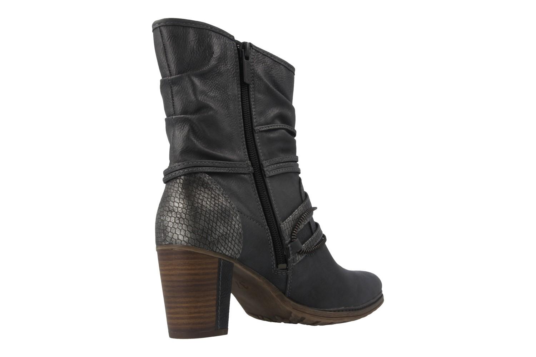 Mustang Shoes Stiefeletten in Übergrößen Grau 1199-506-259 große Damenschuhe – Bild 3
