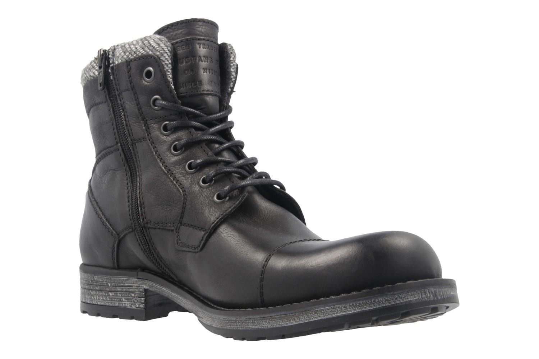 MUSTANG - Herren Boots - Schwarz Schuhe in Übergrößen – Bild 5