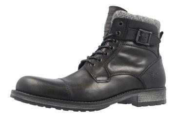 Mustang Shoes Boots in Übergrößen Schwarz 4865-506-9 große Herrenschuhe – Bild 1