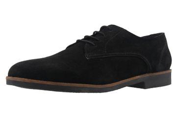 BORAS - Herren Halbschuhe - Gino - Schwarz Schuhe in Übergrößen