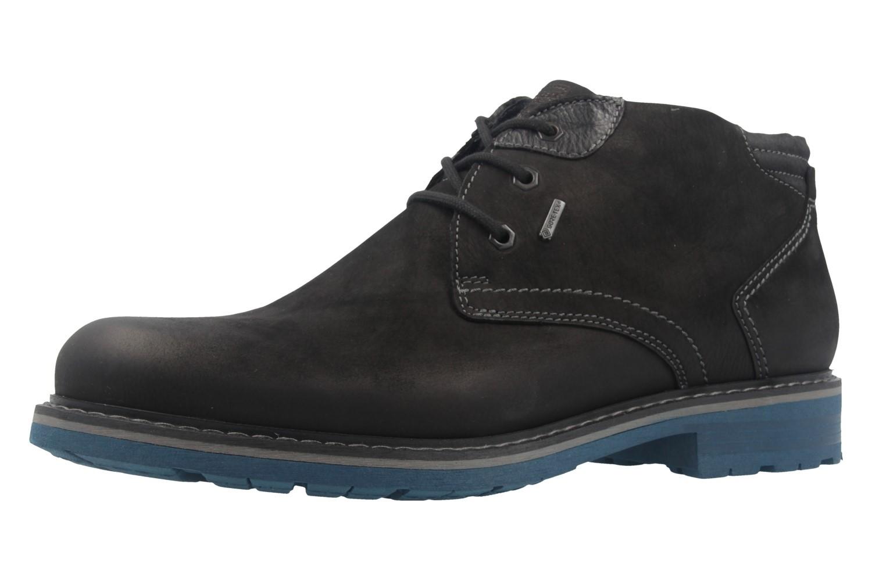 FRETZ MEN - Herren Boots - Scooter - Schwarz Schuhe in Übergrößen – Bild 1
