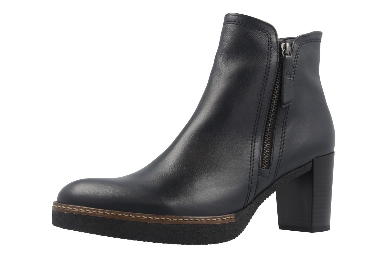 GABOR comfort - Damen Stiefeletten - Blau Schuhe in Übergrößen – Bild 1