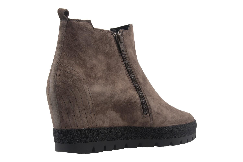 GABOR comfort - Damen Keil-Stiefeletten - Grau Schuhe in Übergrößen – Bild 3