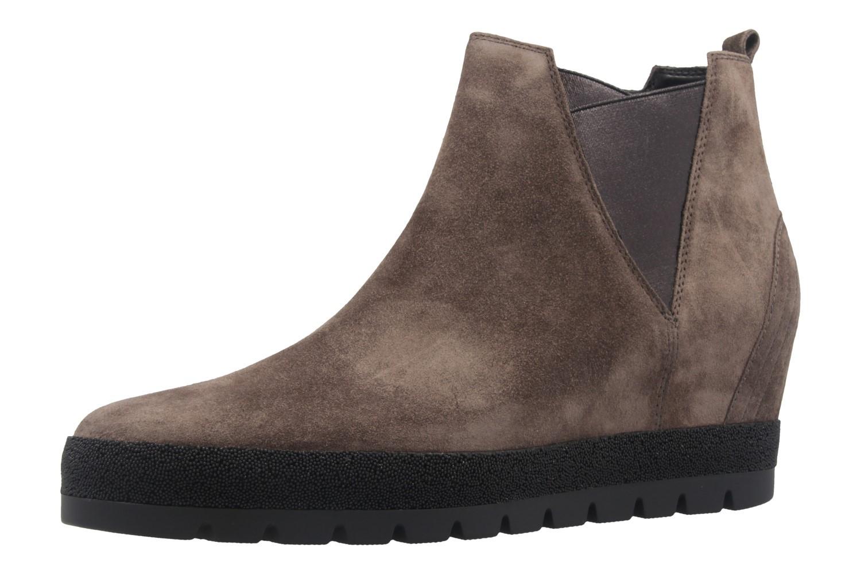 GABOR comfort - Damen Keil-Stiefeletten - Grau Schuhe in Übergrößen – Bild 1