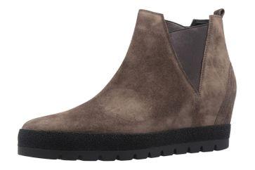 GABOR comfort - Damen Keil-Stiefeletten - Grau Schuhe in Übergrößen