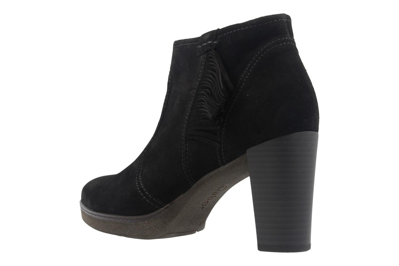 GABOR - Damen Stiefeletten - Schwarz Schuhe in Übergrößen – Bild 2