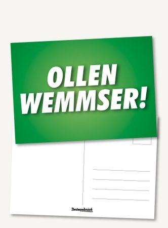 Postkarte – Ollen Wemmser