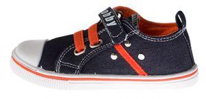 Kinder Leinen Schuhe Klettverschluss u Gummizug Sneaker Halb Schuhe Jungen Mädchen Gr. 28-35 – Bild 4