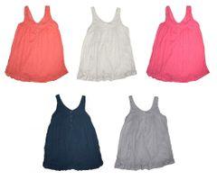 Damen Longbluse Knitterlook Weiß Pink Rosé Grau Blau Sommerbluse Tunika – Bild 1