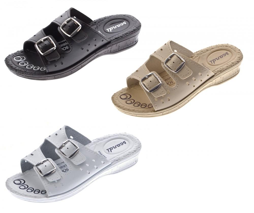 Damen Pantoletten Sandaletten Riemchen Glitzer Latschen Glanz Soft-Fußbett 36-42