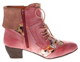 TMA Damen Stiefeletten Echtleder Comfort Boots Leder Schuhe TMA 6188 Gr. 36 - 42 – Bild 17