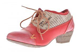 TMA Damen Echtleder Pumps viele Farben TMA 6161 Leder Schuhe Trichterabsatz Gr. 36 - 42 – Bild 3