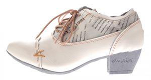 TMA Damen Echtleder Pumps viele Farben TMA 6161 Leder Schuhe Trichterabsatz Gr. 36 - 42 – Bild 9