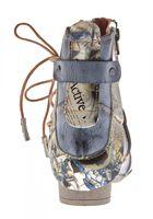 TMA Damen Stiefeletten Comfort Boots Echtleder Schwarz Blau Rot Leder Schuhe TMA 6186 Gr. 36 - 42 – Bild 7