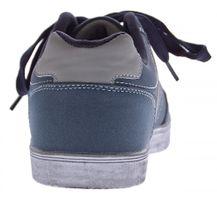 Herren Schuhe Sneakers Turnschuhe Halbschuhe Schnürer Sportschuhe Blau Gr. 40-46 – Bild 4