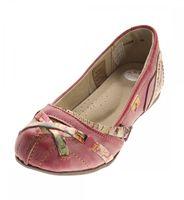 TMA Leder Damen Ballerinas Echtleder Sandalen Comfort Schuhe TMA 5088 Slipper bunt Gr. 36 - 42 – Bild 5