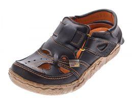 TMA Leder Damen Sandalen Echtleder Comfort Sandaletten viele Farben 7088 Halb Schuhe 36 - 42 – Bild 4