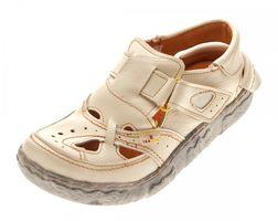 TMA Leder Damen Sandalen Echtleder Comfort Sandaletten viele Farben 7088 Halb Schuhe 36 - 42 – Bild 5
