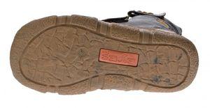 Damen Leder Stiefeletten TMA 7087-N Knöchel Schuhe gefüttert Winter Stiefel viele Farben used look  – Bild 10