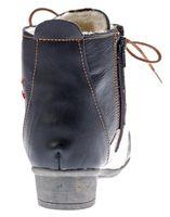 TMA Leder Damen Stiefeletten gefüttert Comfort Boots echt Leder Winter Schuhe TMA 8077 Gr. 36 - 42 – Bild 7