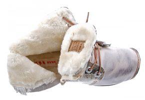 TMA Leder Damen Stiefeletten gefüttert Comfort Boots echt Leder Winter Schuhe TMA 8077 Gr. 36 - 42 – Bild 23