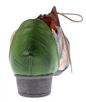 TMA Leder Damen Halbschuhe Schnürer viele Farben Comfort Schuhe echt Leder Pumps TMA 8088 Gr. 36 - 42 – Bild 23
