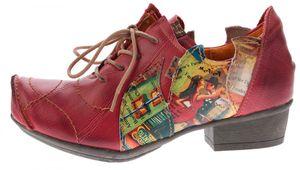 TMA Leder Damen Halbschuhe Schnürer viele Farben Comfort Schuhe echt Leder Pumps TMA 8088 Gr. 36 - 42 – Bild 16