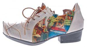 TMA Leder Damen Halbschuhe Schnürer viele Farben Comfort Schuhe echt Leder Pumps TMA 8088 Gr. 36 - 42 – Bild 11