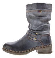 TMA Damen Winter Stiefel echt Leder gefüttert Comfort Stiefeletten TMA 5005 Schuhe Boots Gr. 36 - 42 – Bild 22