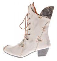 Damen Stiefel Echt Leder Comfort Boots Schuhe TMA 7011 Stiefeletten 36 - 42 – Bild 10