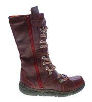 Damen Leder Winter Comfort Stiefel gefüttert echt Leder Schuhe TMA 7086 Neu viele Farben  – Bild 16