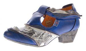 TMA Leder Damen Spangen Pumps viele Farben Echt Leder Comfort Schuhe TMA 6716 Halbschuhe Gr. 36 - 42 – Bild 4