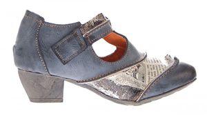 TMA Leder Damen Spangen Pumps viele Farben Echt Leder Comfort Schuhe TMA 6716 Halbschuhe Gr. 36 - 42 – Bild 7