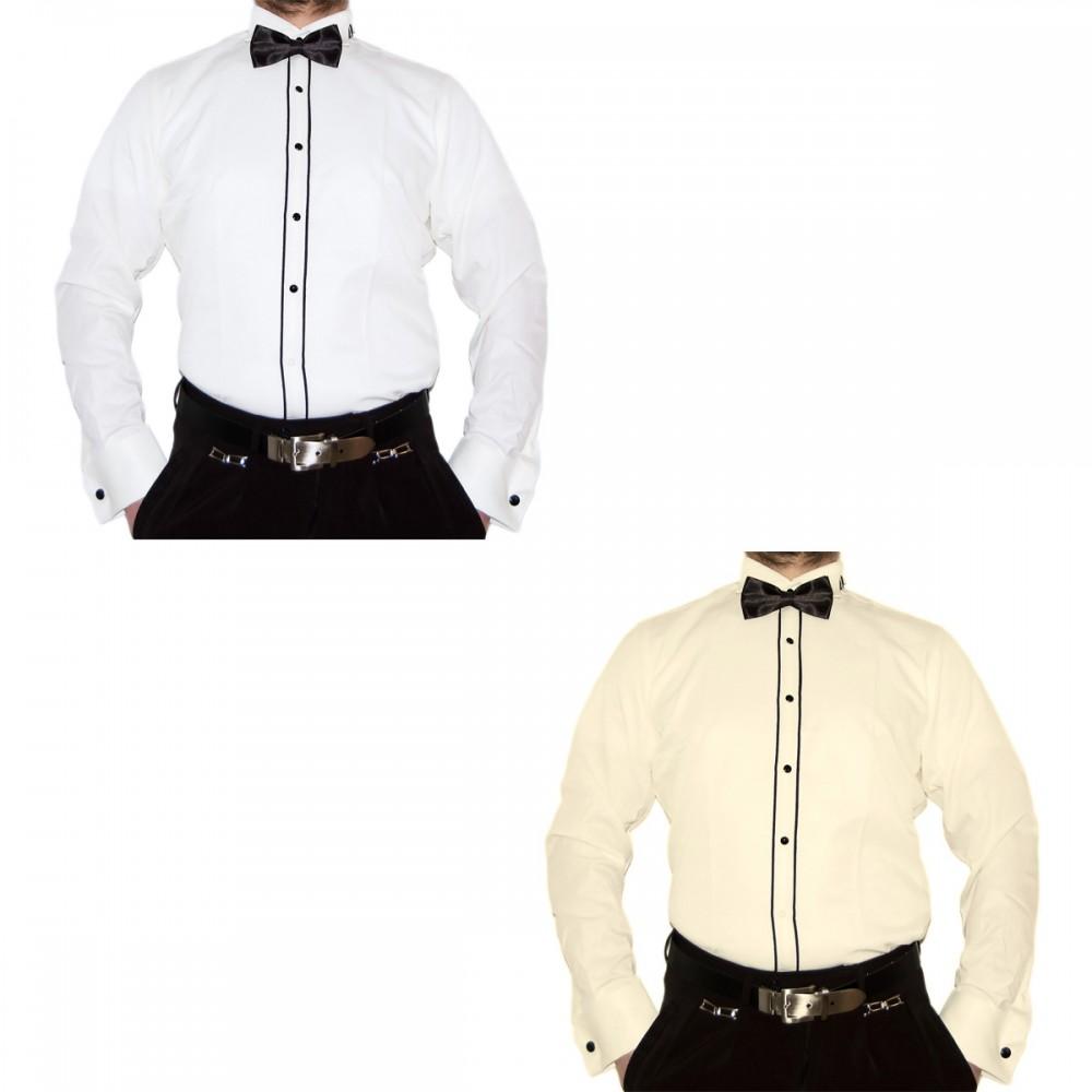 Designer Hochzeitshemd Herren Smoking Hemd