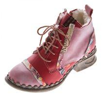 TMA B-Ware Leder Stiefel Stiefeletten Damen Winter Schuhe 2018 7086 2013 7087 – Bild 9