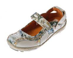 TMA B-Ware Leder Damen Halb Schuhe Pumps Ballerinas 757 4167 1364 1646 1601 7088 – Bild 24