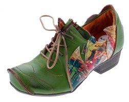 TMA B-Ware Leder Damen Halb Schuhe Pumps Ballerinas 757 4167 1364 1646 1601 7088 – Bild 16
