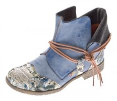 TMA B-Ware Leder Stiefeletten Stiefel Damen Schuhe 5161 6106 6188 5195 7011 5155 – Bild 6
