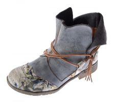 TMA B-Ware Leder Stiefeletten Stiefel Damen Schuhe 5161 6106 6188 5195 7011 5155 – Bild 5