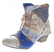 TMA B-Ware Leder Stiefeletten Stiefel Damen Schuhe 5161 6106 6188 5195 7011 5155 – Bild 18