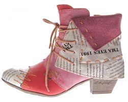 TMA B-Ware Leder Stiefeletten Stiefel Damen Schuhe 5161 6106 6188 5195 7011 5155 – Bild 13