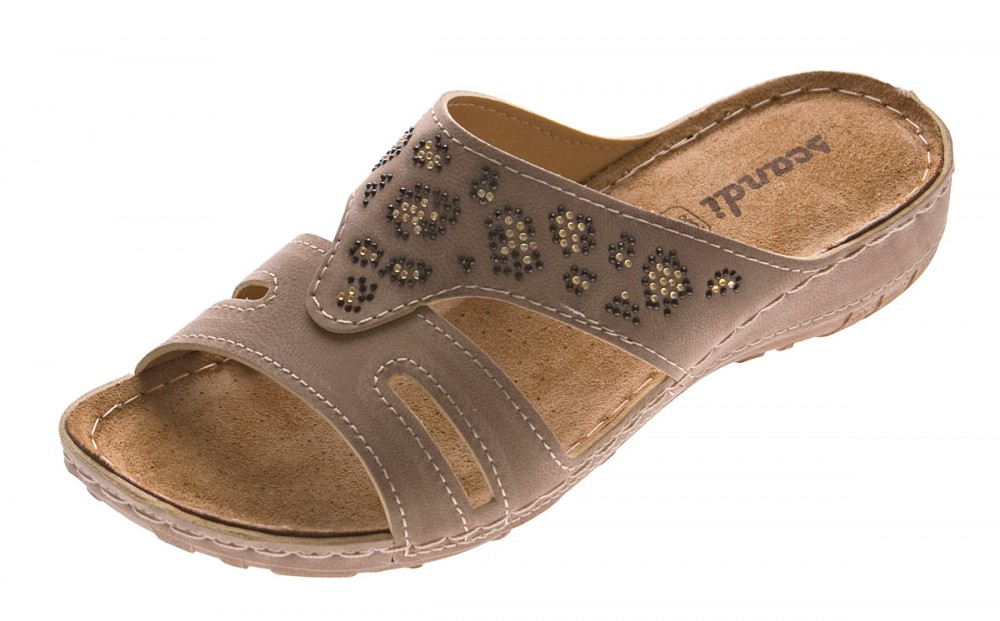 bieten Rabatte Wert für Geld innovatives Design Damen Pantoletten Schuhe Clogs Leder Innensohle Latschen Schwarz Grau  Sandalen Gr. 36 - 41