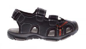 Kinder Sandalette geschlossen Leder Innensohle Schuhe Klettverschluss Gr. 25-30 – Bild 5
