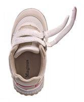 Kinder Sneaker Jungen Mädchen Kita Schuhe Leder Innensohle Halb Schuh Gr. 25-30 – Bild 12