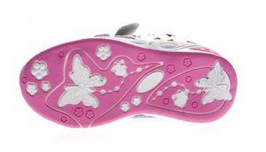 Kinder Sneaker Aufdruck Klettverschluss Mädchen Halb Schuhe Sportschuhe Gr. 22-27 – Bild 8